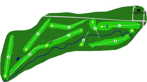 Anaconda Country Club Course Layout